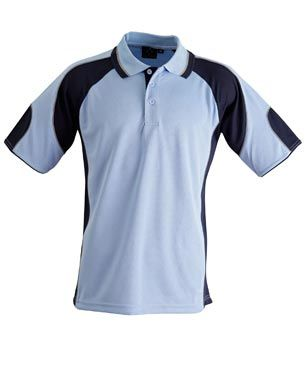 Alliance Kids Polo Sky/Nvy