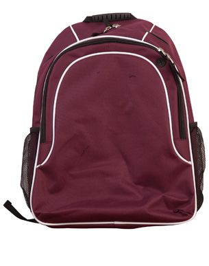 Winner Backpack Mrn/Wht/Mrn