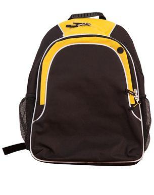 Winner Backpack Blk/Wht/Gld