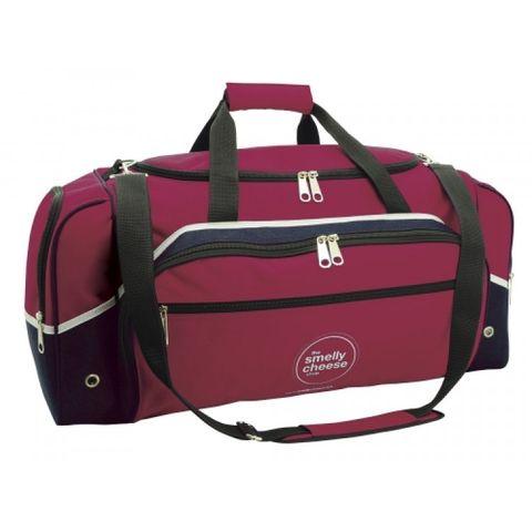 Advent Sports Bag Mrn/Wht/Nvy