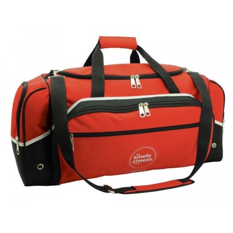 Advent Sports Bag Red/Wht/Blk