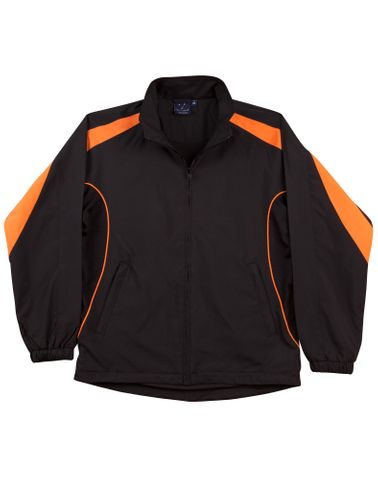 Legend Kids Track Top Blk/Org