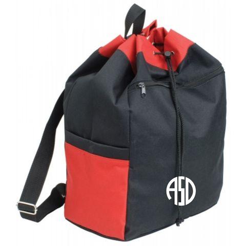 Jersey Kit Bag Jnr Black/Red