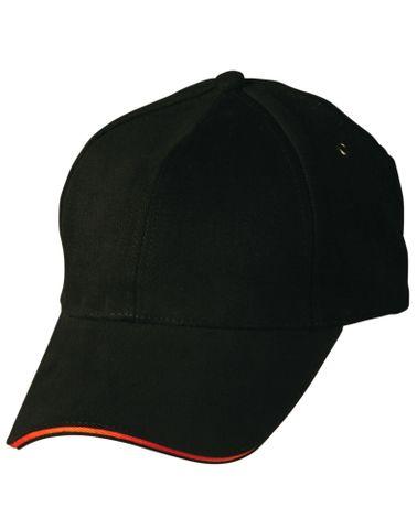 Sandwich Peak Cap Blk/Org