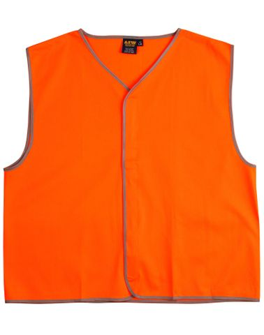 Safety Vest Kids Fluro Orange