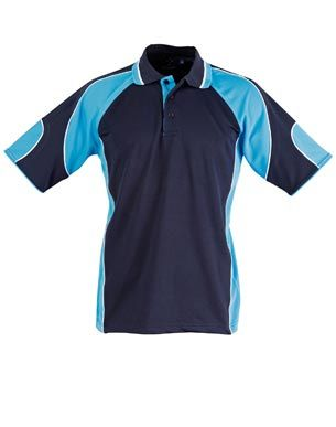 Alliance Kids Polo Nvy/Aqu