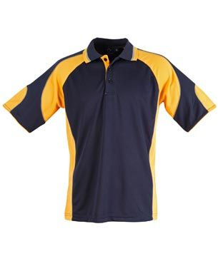 Alliance Kids Polo Nvy/Gld