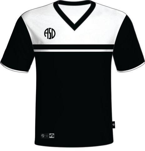 Eclipse Shirt Black/White