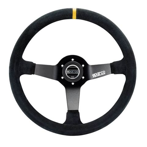 Sparco R345 Suede 350mm Racing Steering Wheel