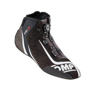 Omp Ks-1r Karting Boots Black/silver 45