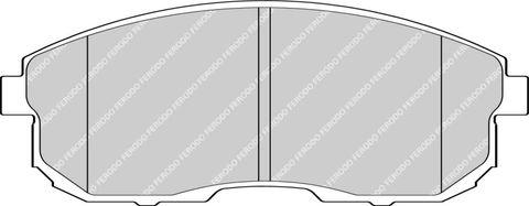 Ferodo Brake Pads - Nissan 180 SX (S13) & 350Z Front