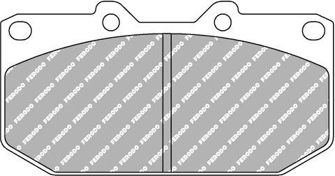 Ferodo Brake Pads - Subaru Impreza WRX & Nissan Skyline R32/33 GTS Front