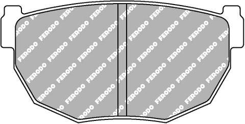 Ferodo Brake Pads - Nissan Silvia, 200SX (S14) Rear