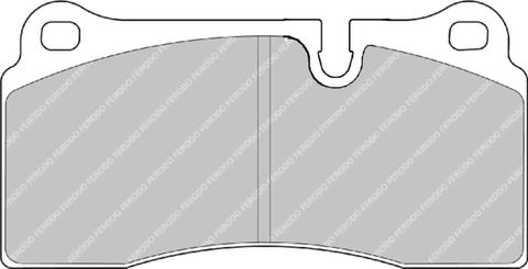 Ferodo Brake Pads - Nissan Skyline GT-R (R35) Rear