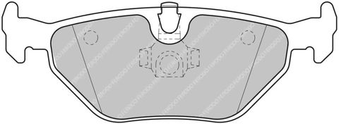 Ferodo Brake Pads - BMW E46 Rear
