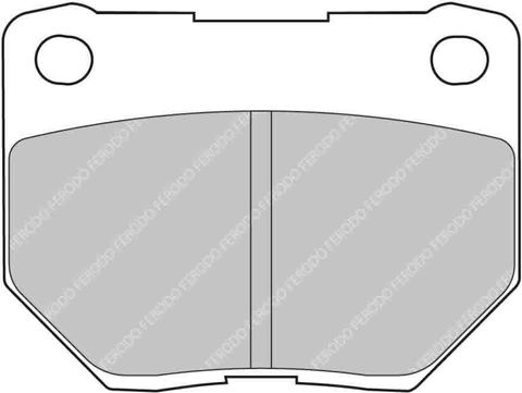 Ferodo Brake Pads - Subaru Impreza WRX Turbo Rear