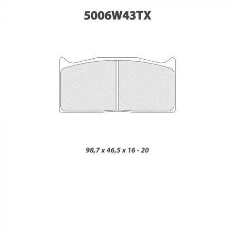 CL Brakes - 5006W43T20 Brake Pads