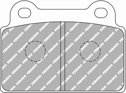 Ferodo Brake Pads - Mitsubishi EVO X (Brembo) Rear