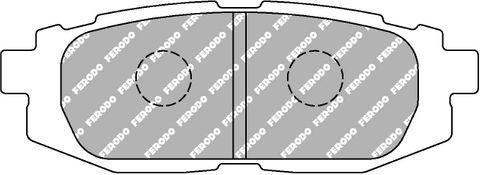 Ferodo Brake Pads - Toyota GT-86 & Subaru BRZ Rear