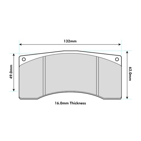 Ferodo Brake Pads - Alcon & Brembo Various Calipers