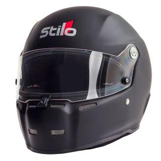 Stilo St5 Fn Cmr Karting Helmet 57 Black