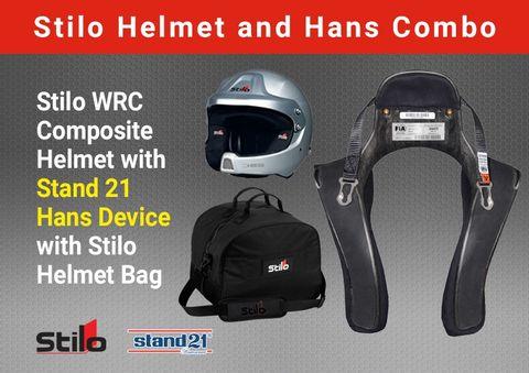 Stilo WRC Composite Clubman Hans Pack