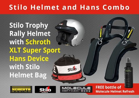 Stilo Trophy Rally Clubman Hans Pack