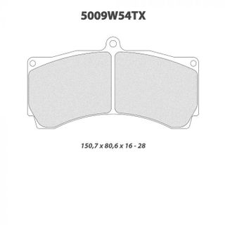 Cl 5009w54t18 Rc5 Brake Pads