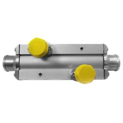 Laminova ECD54 Oil Cooler Heat Exchanger with Dual Cores 182mm Long