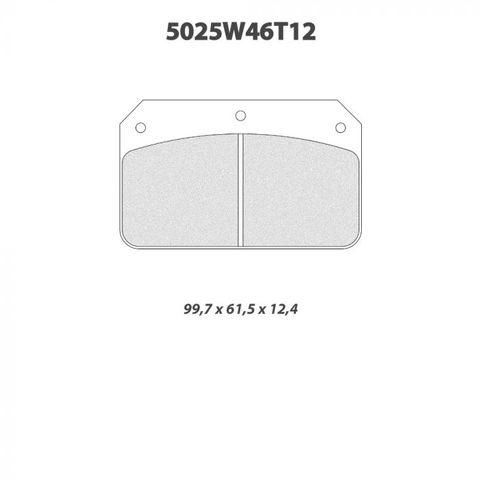 CL Brakes - 5025W46T12 Brake Pads