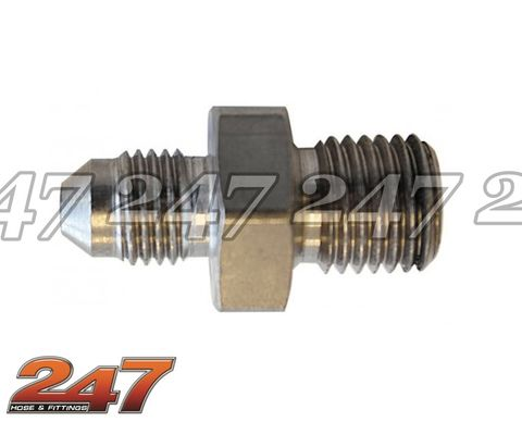 Stainless Steel M10 1.0mm to -3AN Adapter
