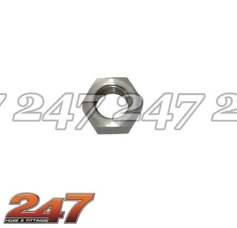Stainless Steel Bulkhead Nut (-3)