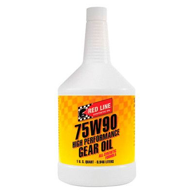 Redline 75W90 High Performance Gear Oil