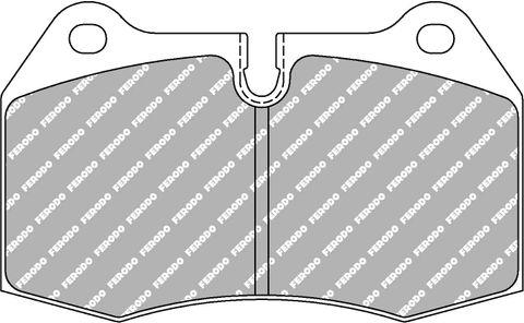 Ferodo DS Performance Brake Pads - Nissan 350 Z (Brembo) Front