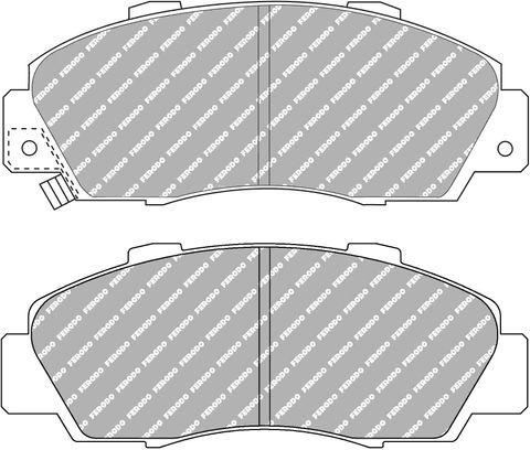 Ferodo DS Performance Brake Pads - Honda Accord & Integra DC2,DC5 Front