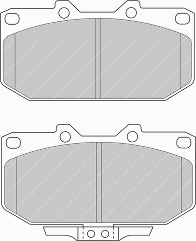 Ferodo DS Performance Brake Pads - Subaru Impreza & Nissan 200SX (S14/15) Front