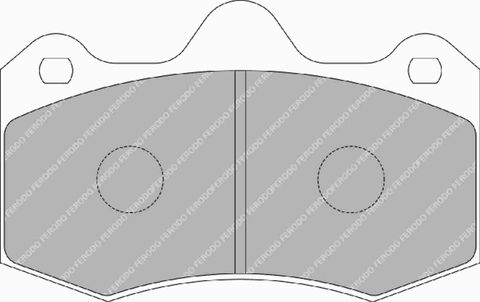 Ferodo DS Performance Brake Pads - Holden  Commodore VE & HSV (Brembo & AP) Front