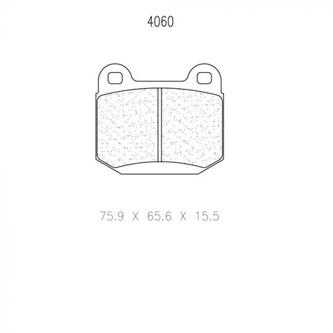CL Brakes - Mitsubishi Lancer EVO5-10 (BREMBO) Rear Brake Pads