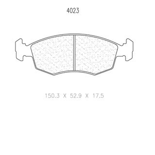 Cl 4023 Rc6 Brake Pads