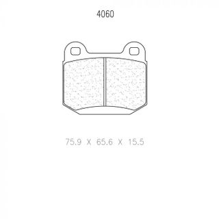 Cl 4060 T14 Rc5 Brake Pads