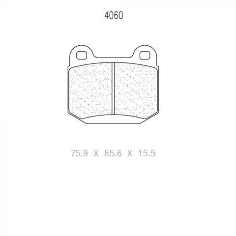 CL Brakes - Mitsubishi EVO & Subaru WRX STI 2.5 Turbo Rear Brake Pads