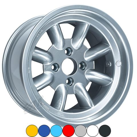 Genuine Minilite 10 x 15 Alloy Wheels