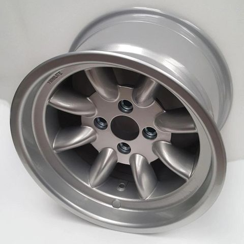 Genuine Minilite 9 x 15 Alloy Wheels