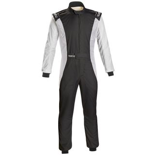 Sparco Competition Suit 48 Black/White