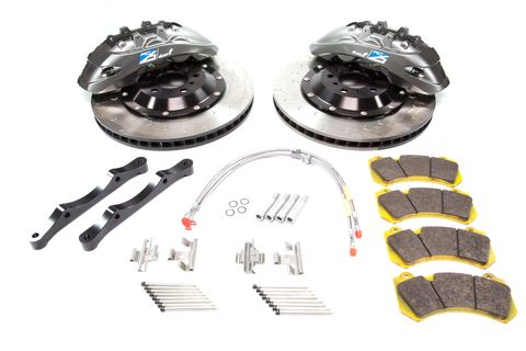Alcon Nissan GTR R35 RC6 & RC4 Front and Raer Brake Kit Grey
