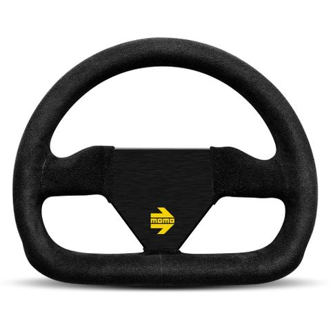 Momo Mod.12 Suede 250mm Steering Wheel