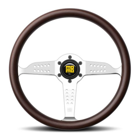 MOMO Grand Prix Wood Steering Wheel 350mm