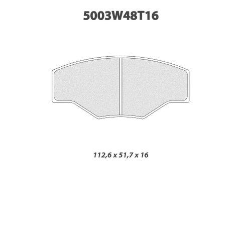 CL Brakes - 5003W48T16 Brake Pads
