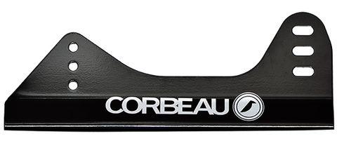 Corbeau Pro 35 Team Aluminium Seat Brackets Black