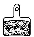 Shimano Deore BR-M355 & BR-M4050 MTB Sintered Brake Pads
